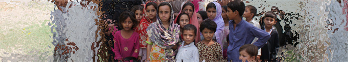 photo of flood victim children